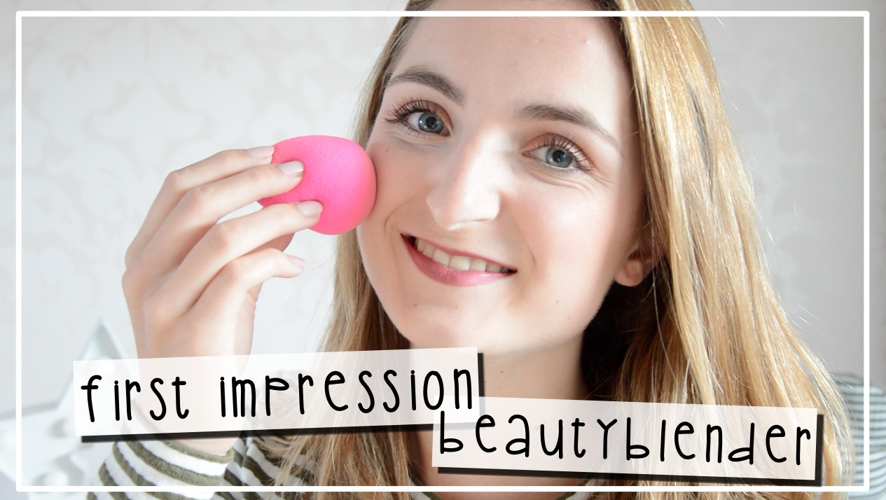 VIDEO || First Impression Beautyblender