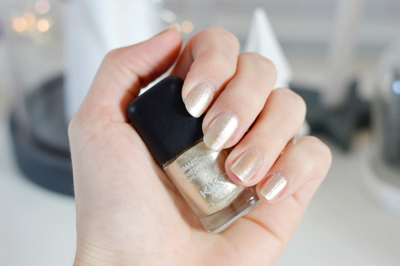 Kiko Smart Nail Laqcuer 034 Cool Gold