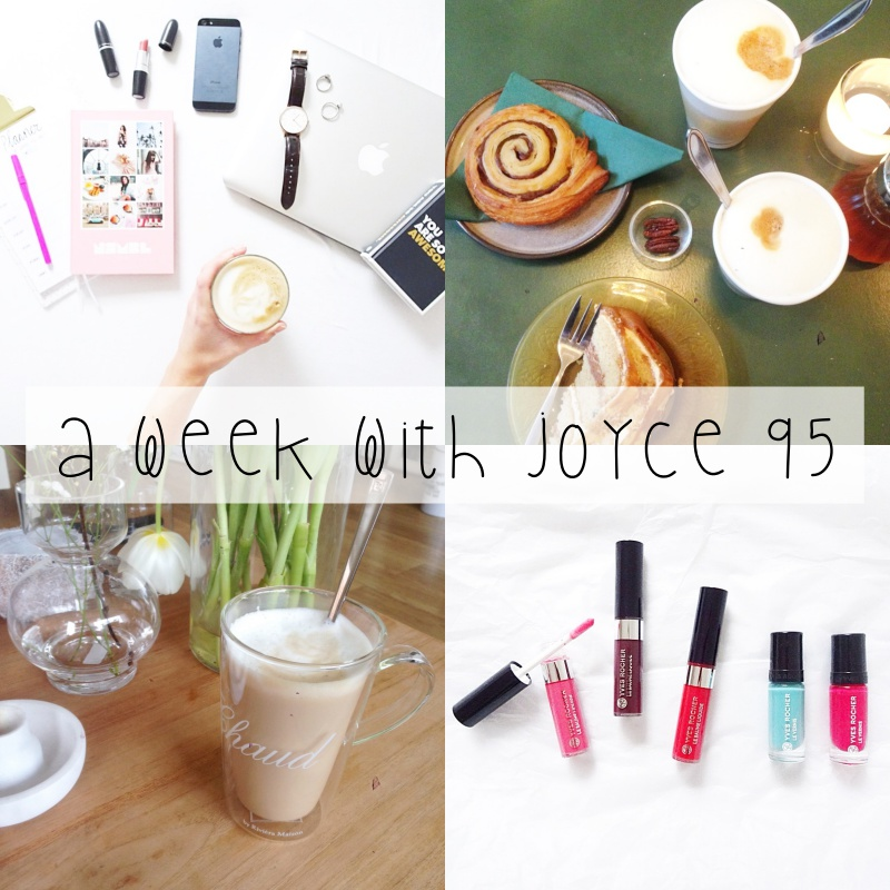 A WEEK WITH JOYCE 95 || ALLERLAATSTE TENTAMEN EVER, LADIESNIGHT & SNEEUW