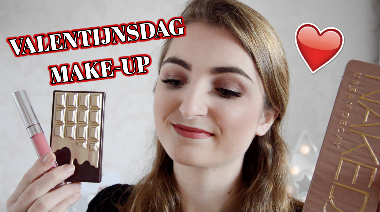 VIDEO || VALENTIJNSDAG MAKE-UPLOOK