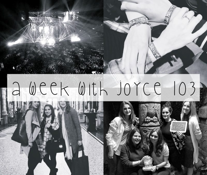 A WEEK WITH JOYCE 103 || THE ESCAPE ROOM, ED SHEERAN & DEN HAAG