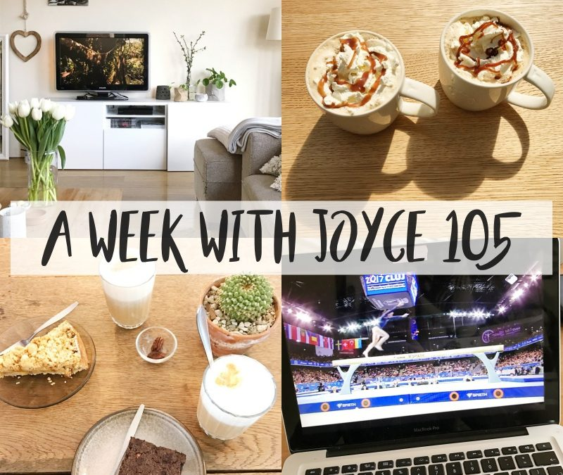 A WEEK WITH JOYCE 105 || PASEN, RUGPIJN & 21-DINER