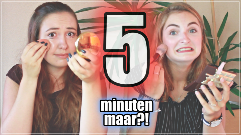 VIDEO | 5 MINUTE MAKEUP CHALLENGE MET IRINA