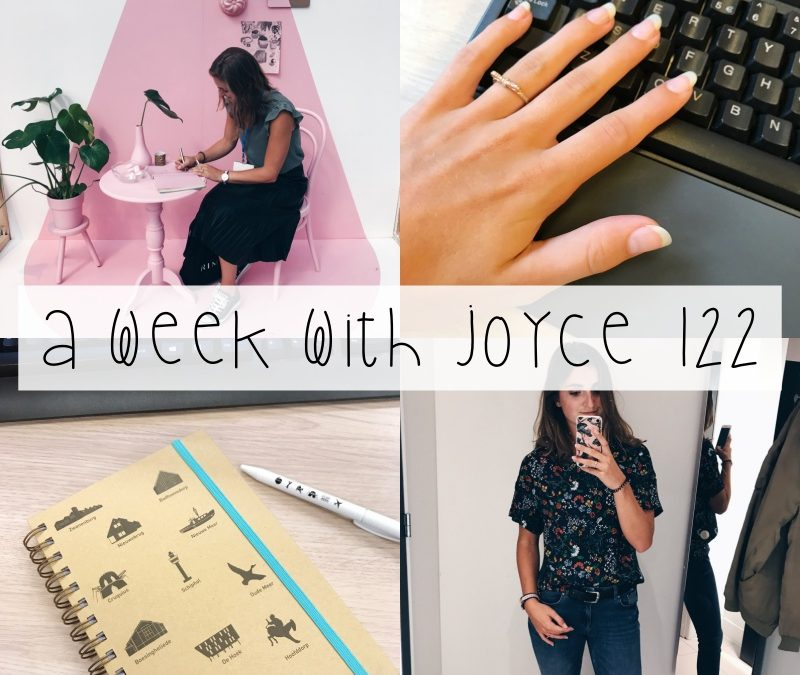 A WEEK WITH JOYCE 122 | HET AFSTUDEREN IS BEGONNEN