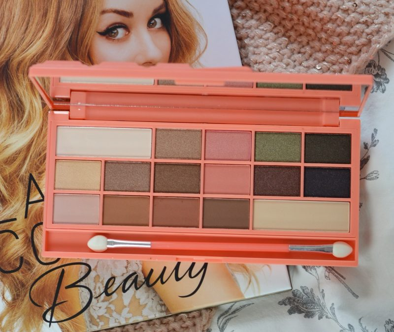I HEART MAKEUP CHOCOLATE AND PEACHES PALETTE