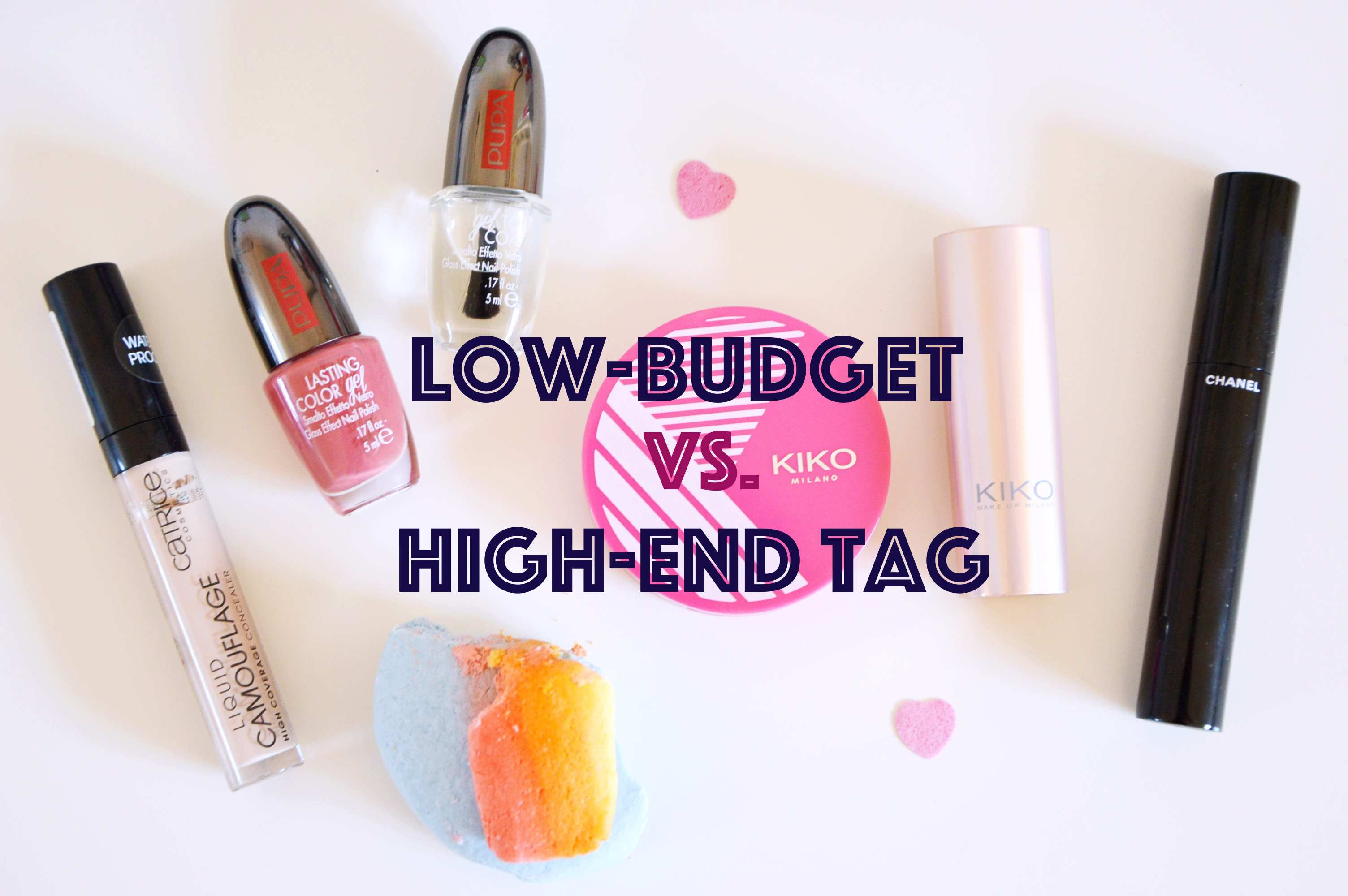 low budget vs. high end tag