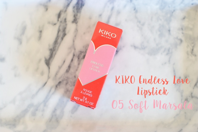 kiko endless love lipstick 05