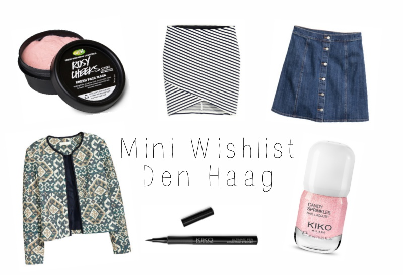 Mini wishlist Den Haag