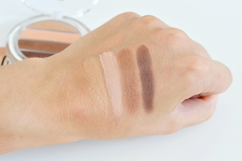 P2 Shades of Nude Eye Shadow Palette