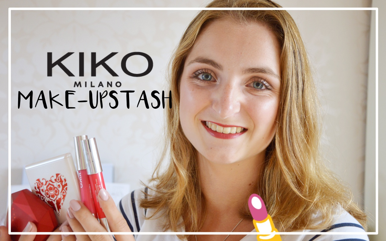 kiko make-up stash