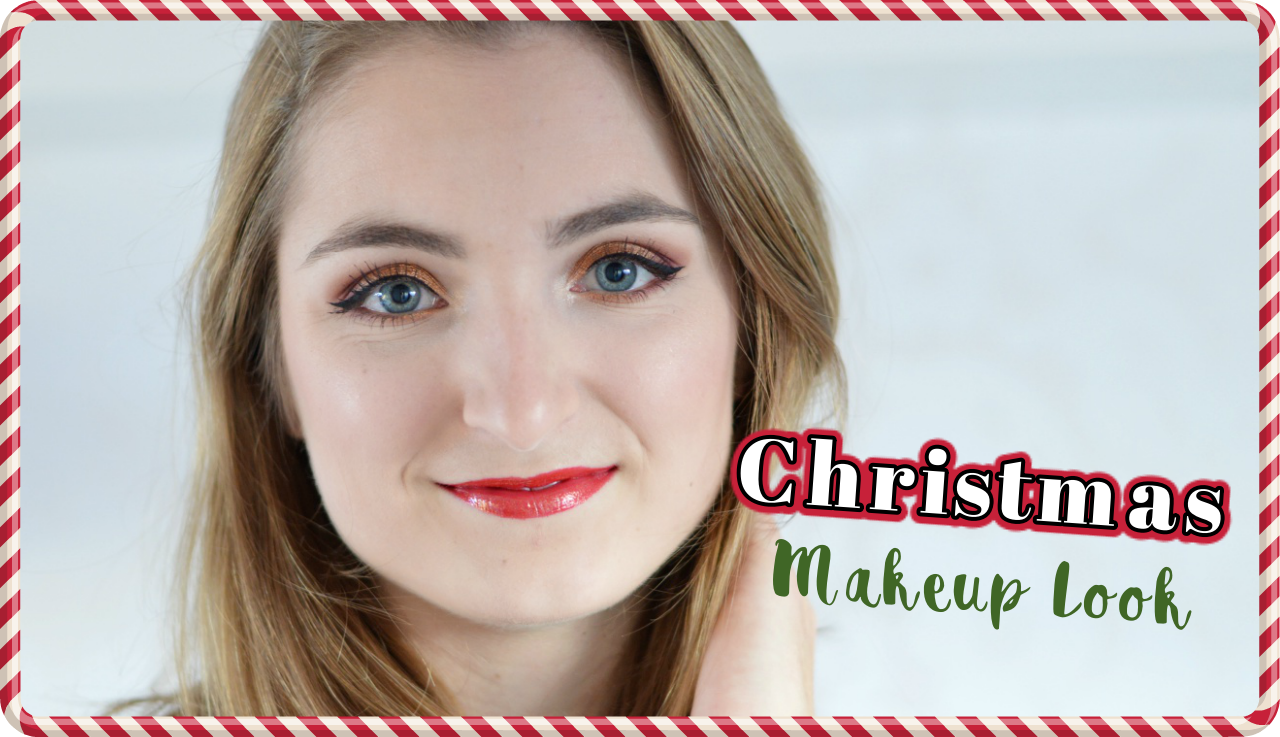 VIDEO || CHRISTMAS MAKEUP LOOK