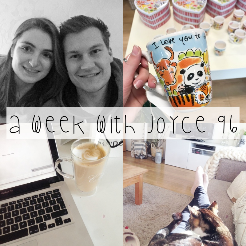 A WEEK WITH JOYCE 96 || EERSTE WEEK AFSTUDEREN