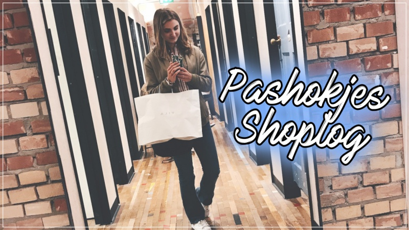 VIDEO | PASHOKJES SHOPLOG MET JORN