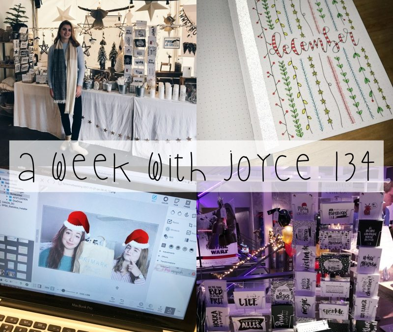 A WEEK WITH JOYCE 134 | COUNTRY & CHRISTMAS FAIR & LADIESNIGHT
