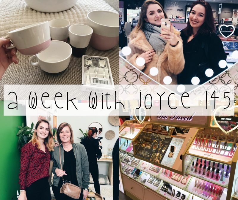A WEEK WITH JOYCE 145 | LANCERING WOWN! & JIPPIES KATTENCAFÉ