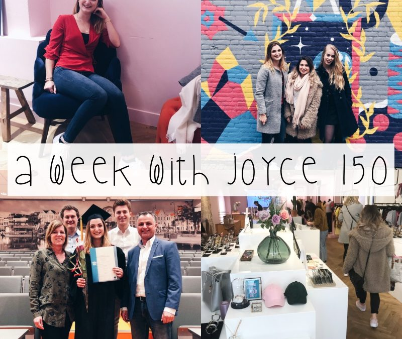 A WEEK WITH JOYCE 150 | DIPLOMA-UITREIKING & SHOPPEN IN BREDA