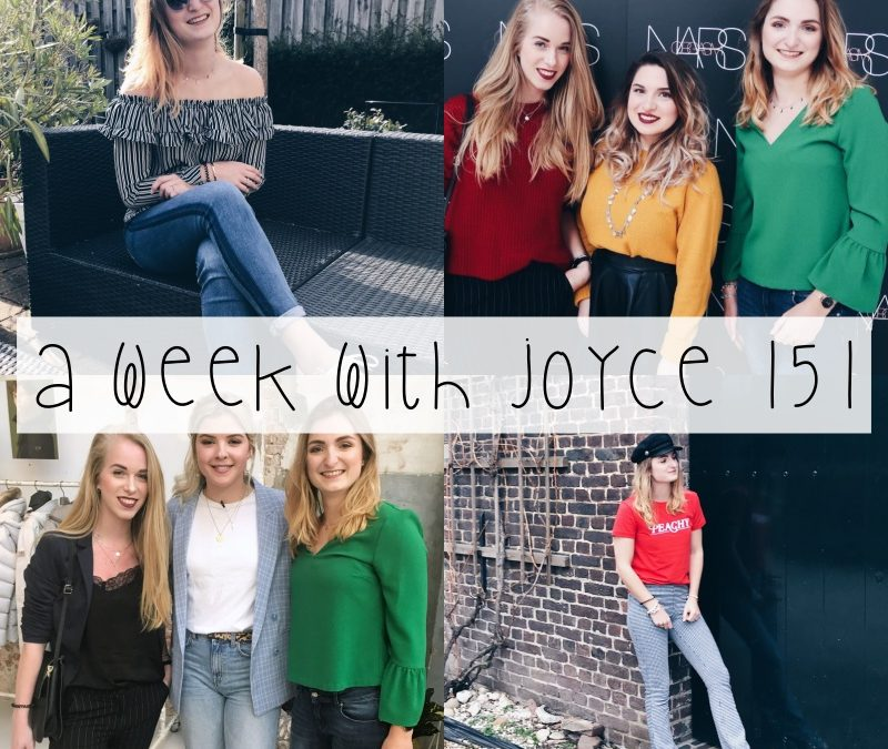 A WEEK WITH JOYCE 151 | PASEN, MOOI THE APARTMENT & LENTEZON