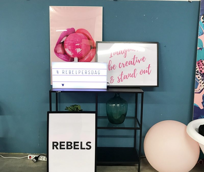 HOUSE OF REBELS PERSDAG SEPTEMBER 2018