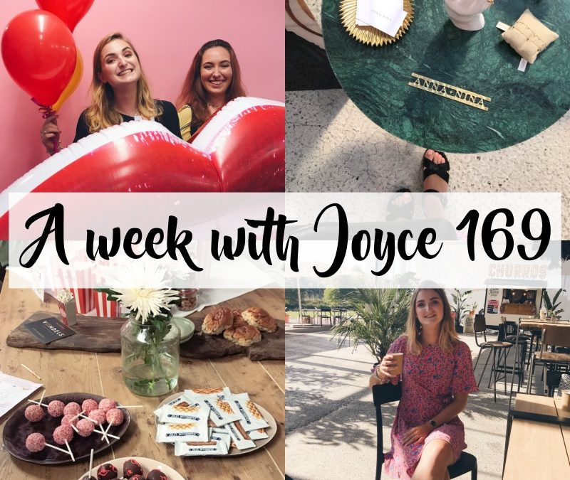 A WEEK WITH JOYCE 169 | HOUSE OF REBELS PERSDAG EN OP KRAAMVISITE