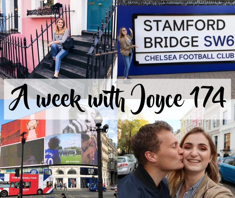 A WEEK WITH JOYCE 174 | EEN LANG WEEKEND LONDEN