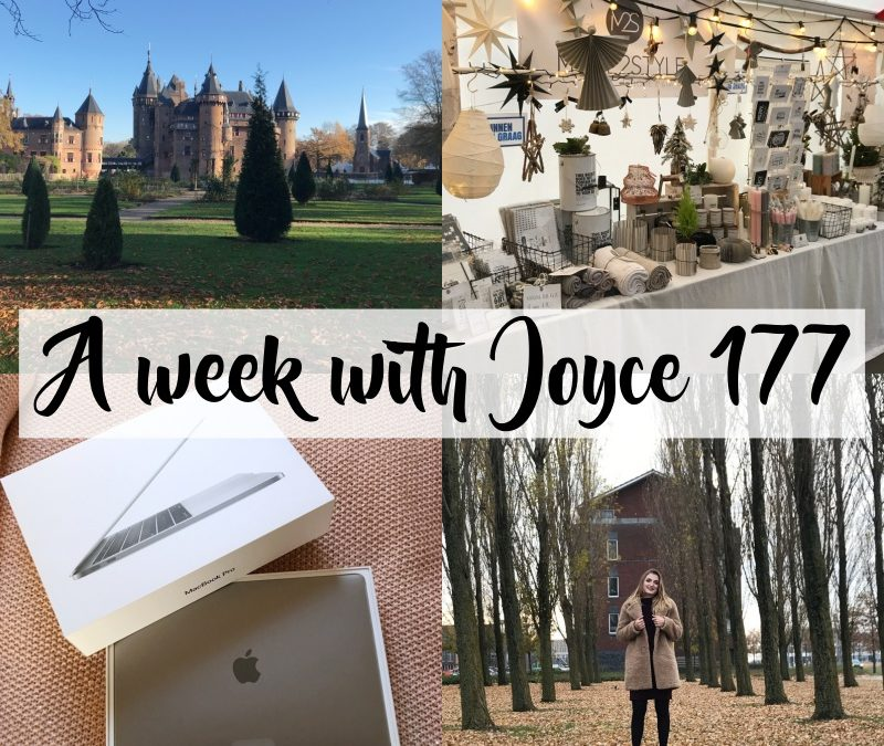 A WEEK WITH JOYCE 177 | COUNTRY & CHRISTMAS FAIR & NIEUWE LAPTOP