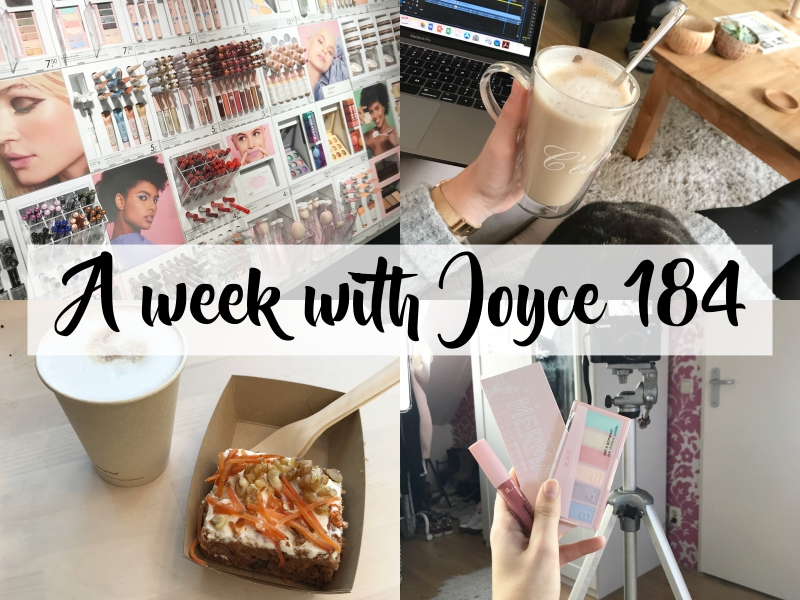 A WEEK WITH JOYCE 184 | SHOWUP EVENT, KLEINE BLOGVERANDERINGEN & HEMA B.A.E.