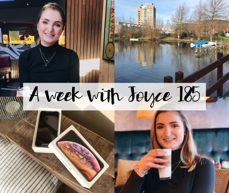 A WEEK WITH JOYCE 185 | VERLATE VALENTIJNSDAG LUNCH & DE NIEUWE IPHONE XS