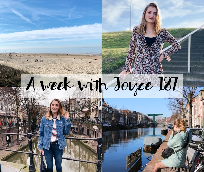 A WEEK WITH JOYCE 187 | EERSTE KEER STRAND & SHOPPEN IN UTRECHT