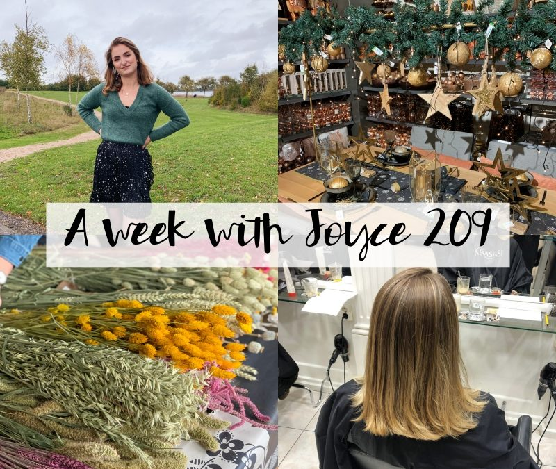 A WEEK WITH JOYCE 209 | EEN RARE WEEK & WARME BALAYAGE IN MIJN HAAR