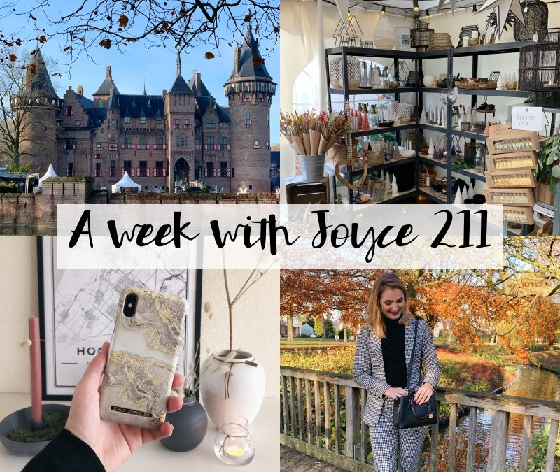 A WEEK WITH JOYCE 211 | COUNTRY & CHRISTMAS FAIR 2019 & LAATSTE WERKWEEK