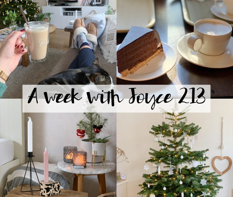 A WEEK WITH JOYCE 213 | EEN KORTER WEEKJE MET VEEL FOTO'S