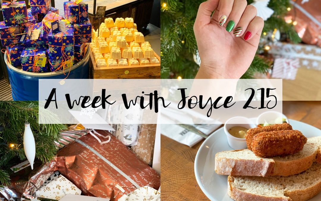 A WEEK WITH JOYCE 215 | KERST 2019 & SHOPPEN IN DE SALE
